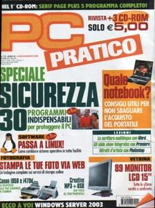 Citazione Zio Hack su Pc Pratico Agosto 2003