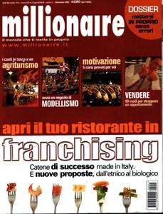 Citazione Zio Hack sulla rivista Millionaire novembre 2002