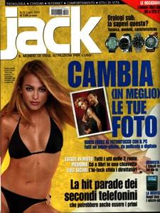 Citazione sulla rivista Jack luglio 2002