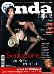 Onda Tv Magazine - dossier sulla Seduzione - Zio Hack novembre 2000